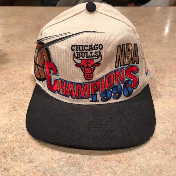 f9ff0930274 Logo Athletic Other - Chicago Bulls 1996 NBA Champions SnapBack